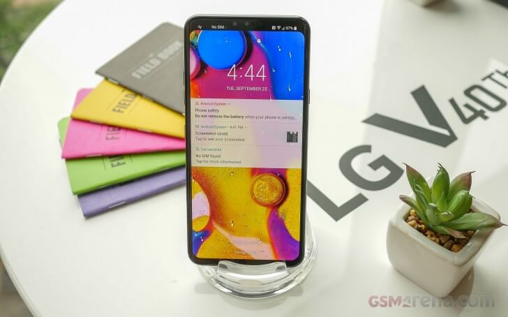LG V40 ThinQ характеристики