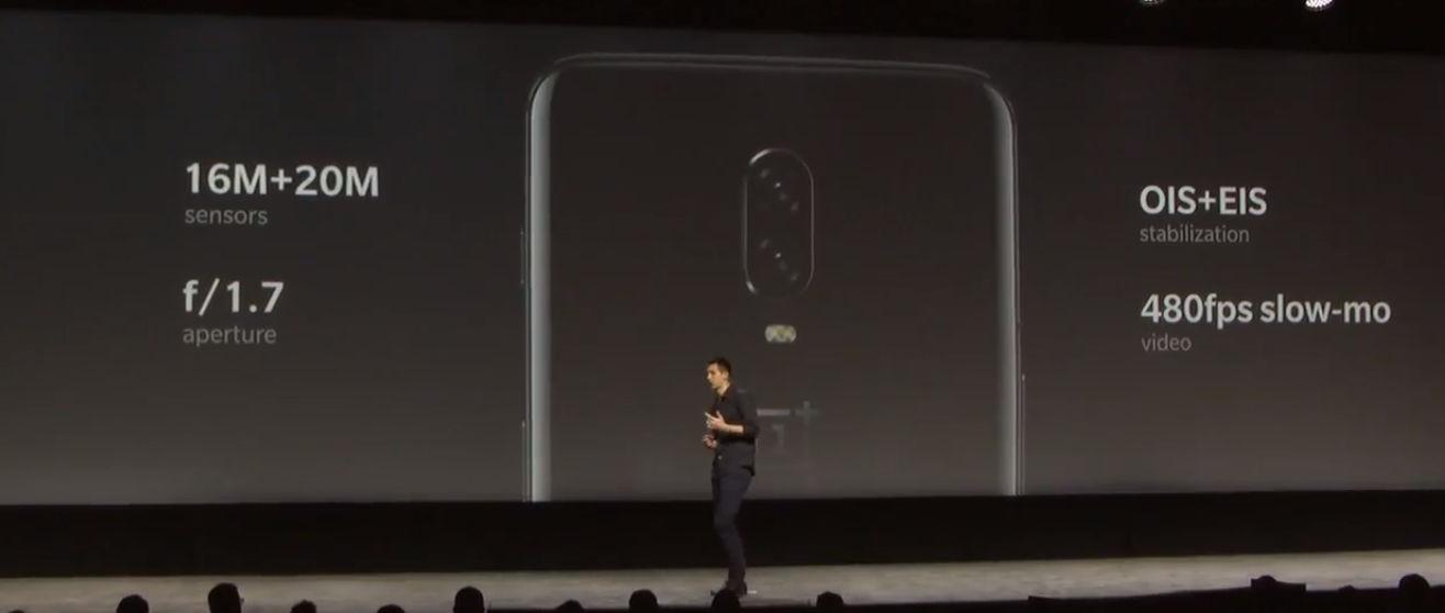 OnePlus 6T характеристики камеры