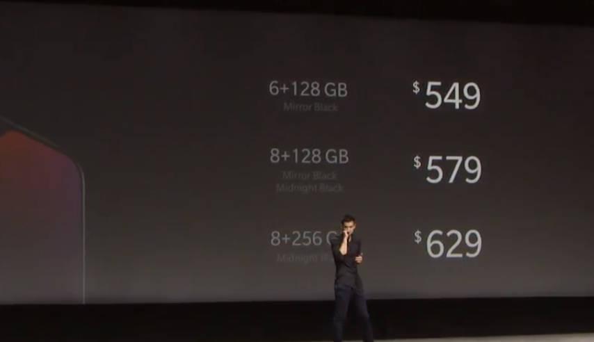 OnePlus 6T цена характеристики