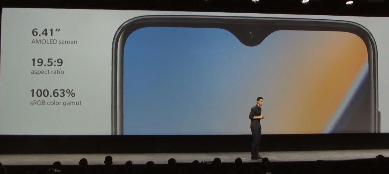 OnePlus 6T характеристики экрана