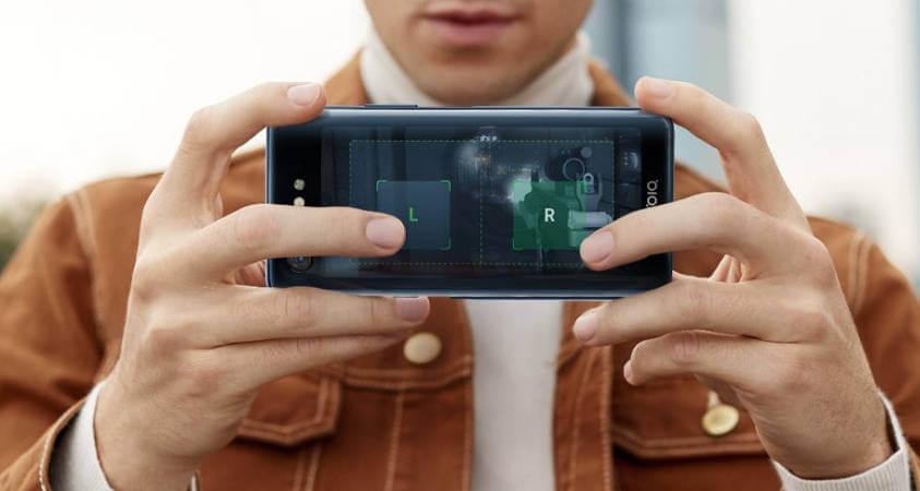 Необычные смартфоны 2018: ZTE nubia X