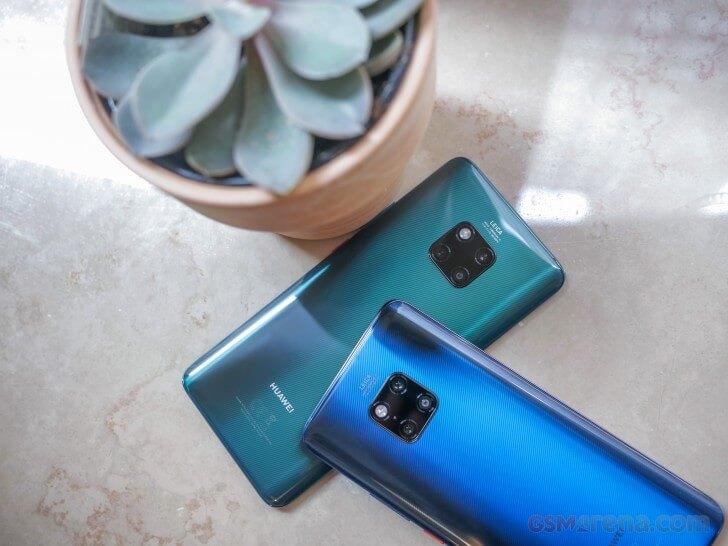 Huawei Mate 20 Pro скорость работы