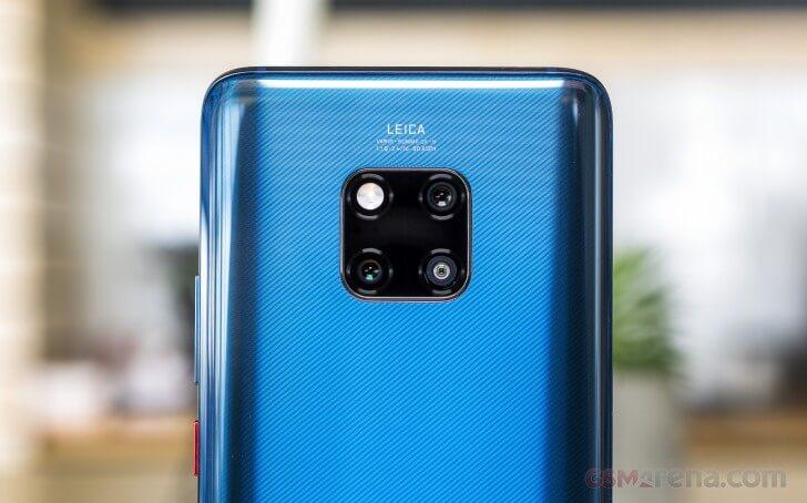 Huawei Mate 20 Pro камера