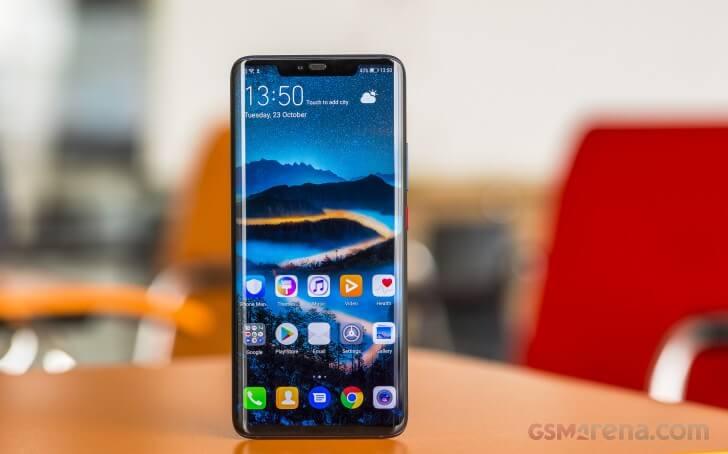 Huawei Mate 20 Pro экран