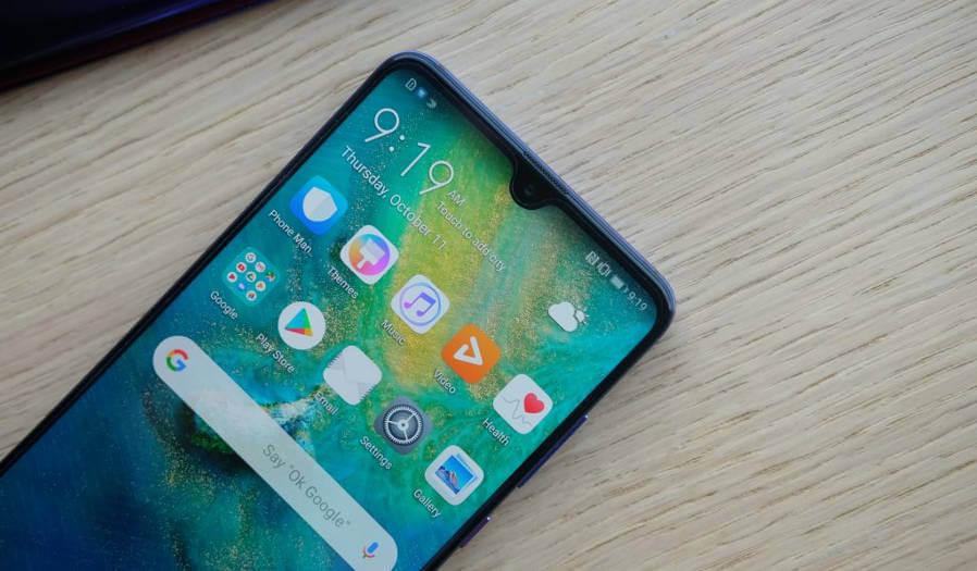 Huawei Mate 20 в Antutu, тесты экрана и батареи