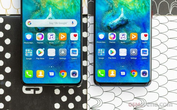 Huawei Mate 20 сравнение с Mate 20 Pro