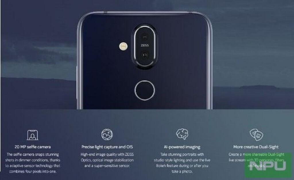Nokia 8.1 характеристики железа