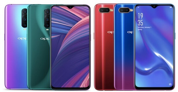 Oppo RX17 Pro и Oppo RX17 Neo