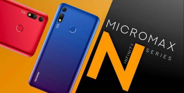 Micromax Infinity N11 и N12: характеристики и цены