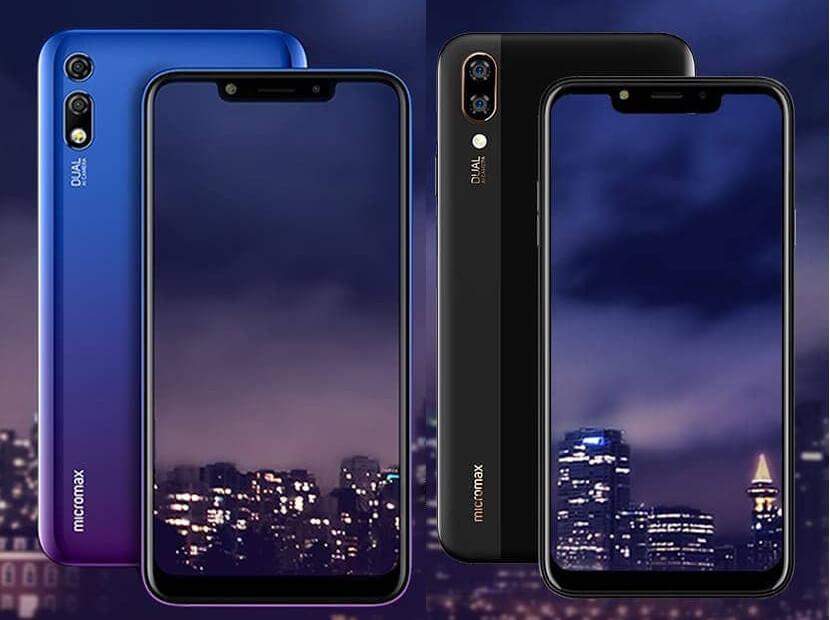 смартфон Micromax Infinity N11 и Infinity N12 характеристики