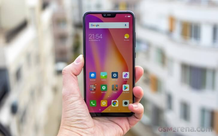 обзор Xiaomi Mi 8 Lite тесты экрана и сравнение