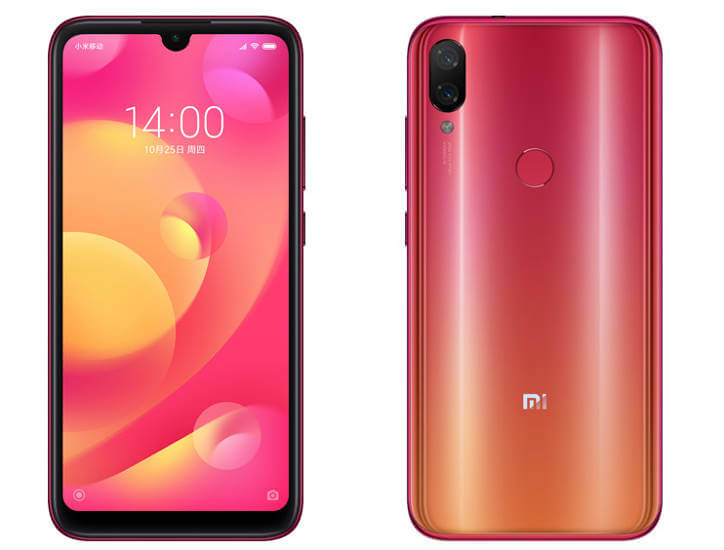 Xiaomi Mi Play характеристики цена