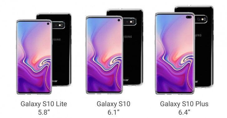 Samsung Galaxy S10 характеристики экрана