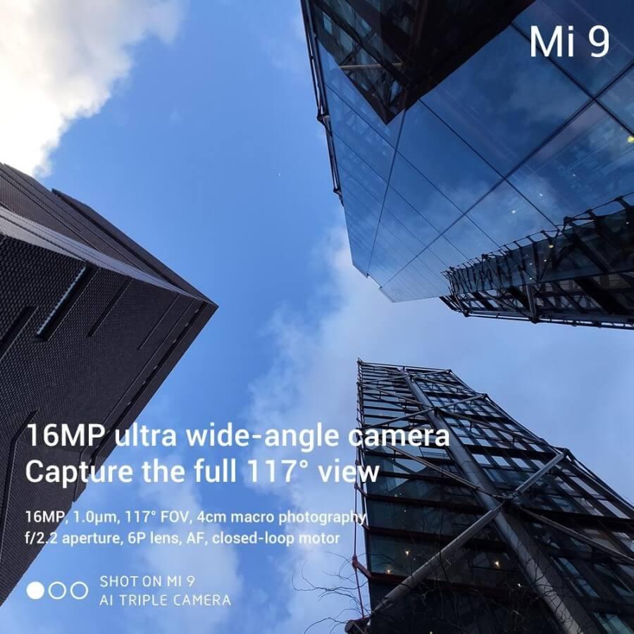 Xiaomi Mi 9 характеристики тройной камеры