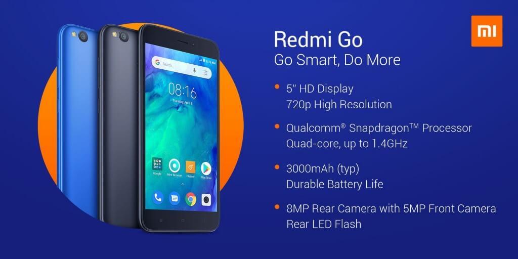Xiaomi Redmi Go характеристики