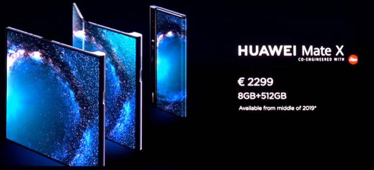 Huawei Mate X цена