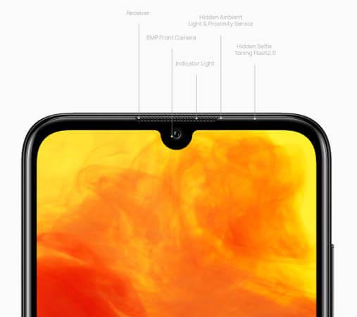 Huawei Y6 Pro 2019 характеристики фронтальной камеры