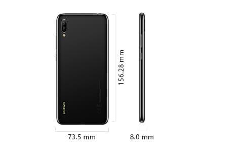 Huawei Y6 Pro 2019 размеры