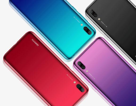 Huawei Y7 Prime 2019 цена
