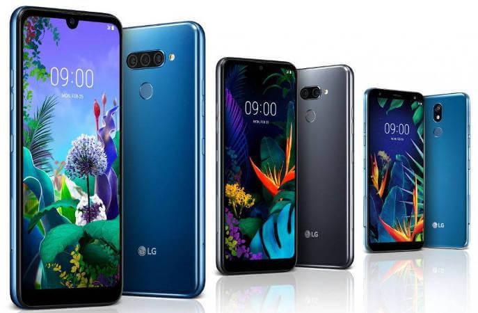 Новые смартфоны LG Q60, LG K50 и LG K40