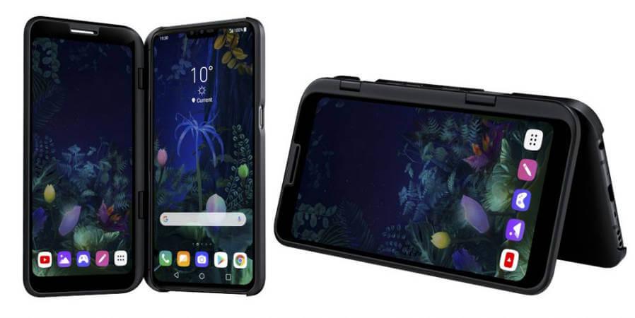 LG V50 и Dual Screen
