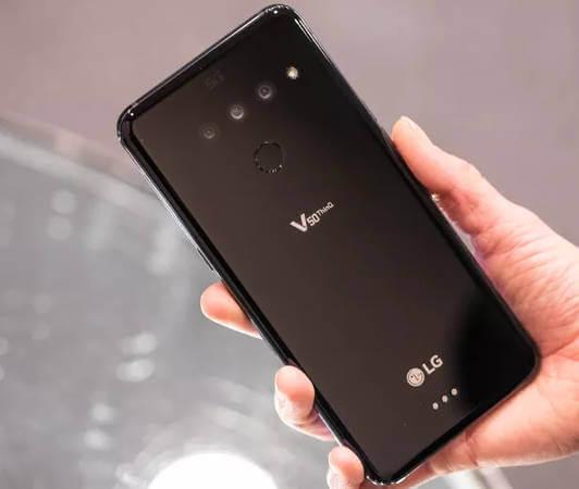 LG V50 обзор