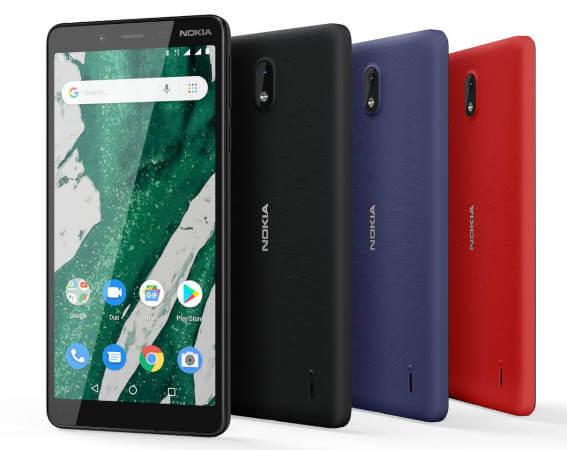 Nokia 1 Plus характеристики цена