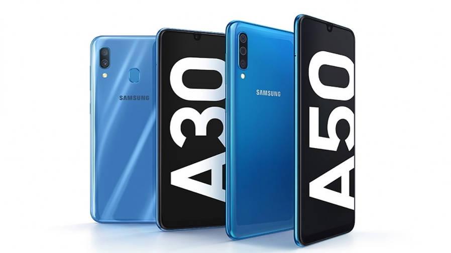 Samsung Galaxy A30 и Galaxy A50: характеристики и цены