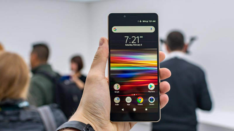Sony Xperia L3 экран