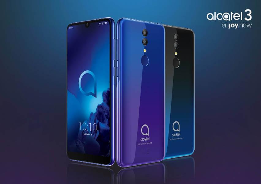 alcatel 3 и alcatel 3L: характеристики и цены
