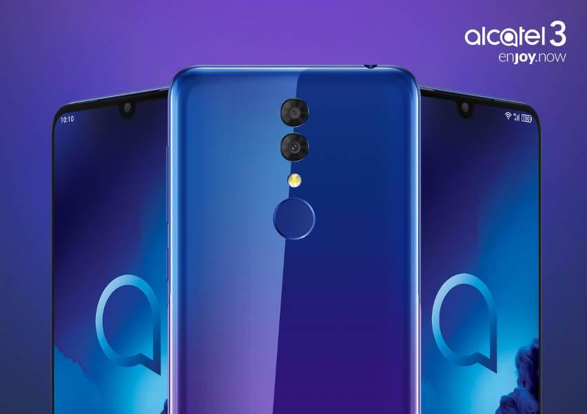 alcatel 3 2019 характеристики цена