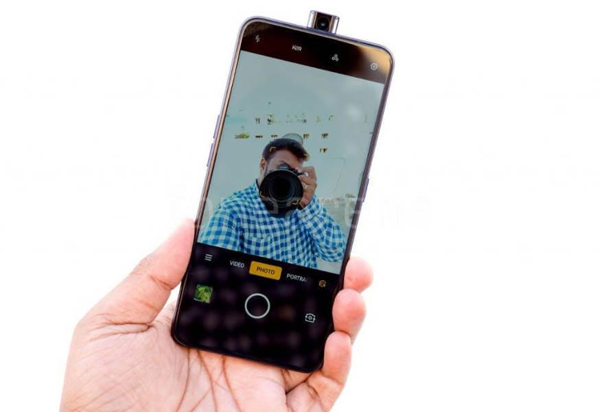 Oppo F11 Pro фронтальная камера-перископ