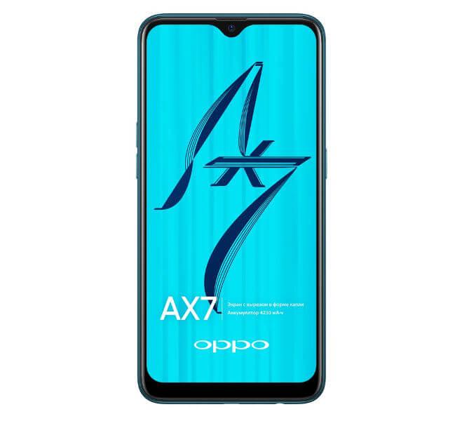 смартфон Oppo AX7 характеристики