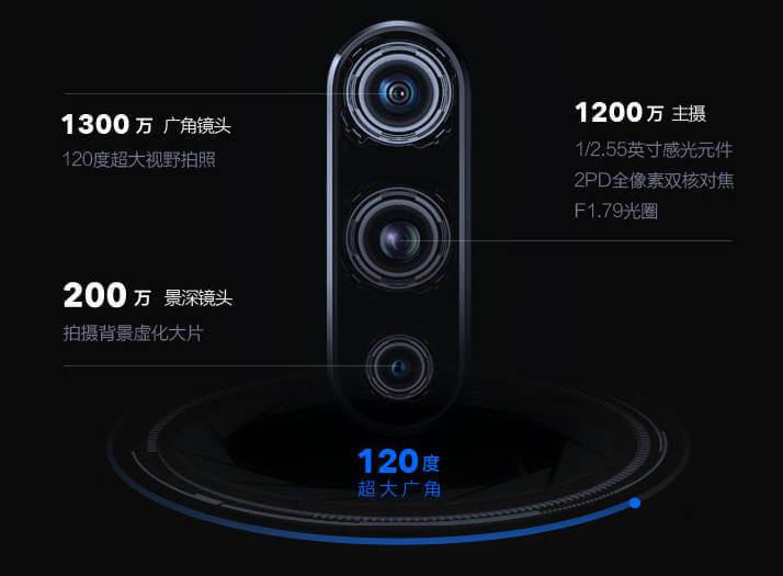 vivo iQOO характеристики камеры