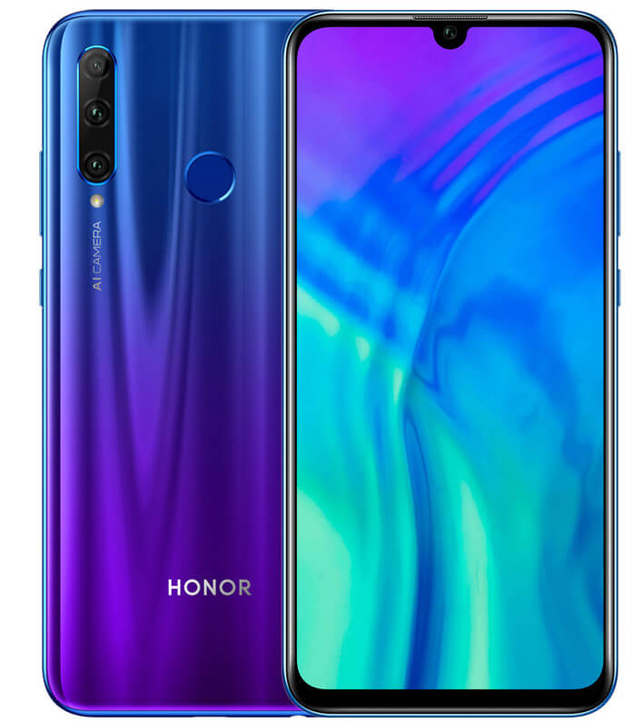 Honor 20 Lite характеристики и цена