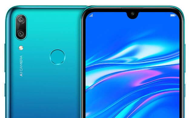 Huawei Y7 2019: характеристики, сравнение с Y6 2019