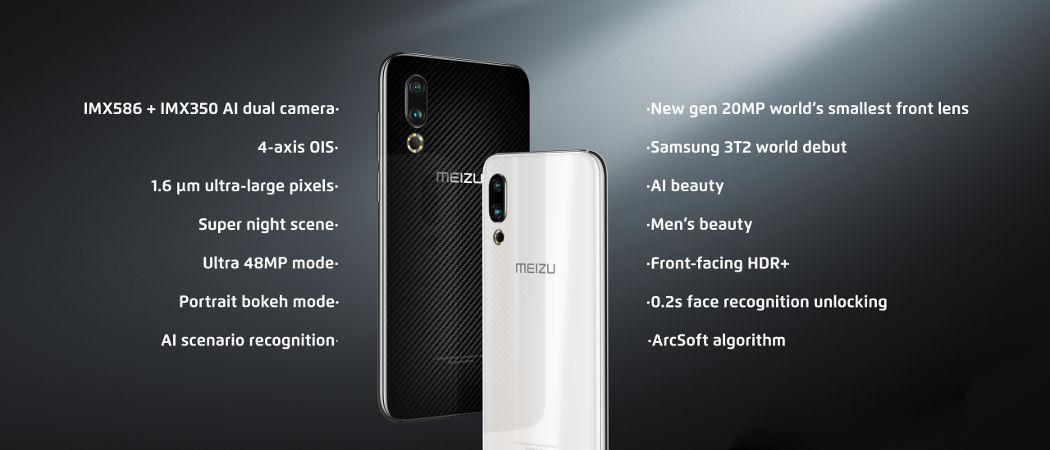 Meizu 16s характеристики камеры