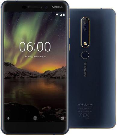 лучшие бюджетные смартфоны, Nokia 6.1