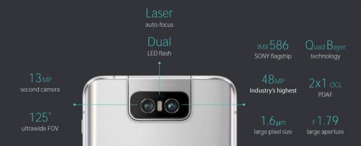 Asus Zenfone 6 характеристики камеры