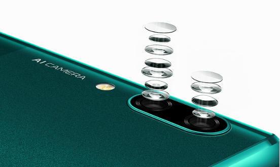 Huawei P Smart Z камера
