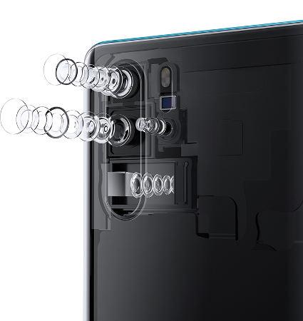 смартфон Huawei P30 Pro камера