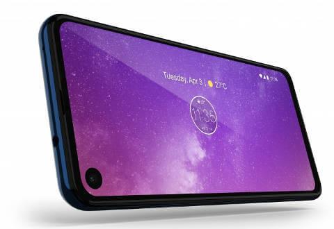 Motorola One Vision экран