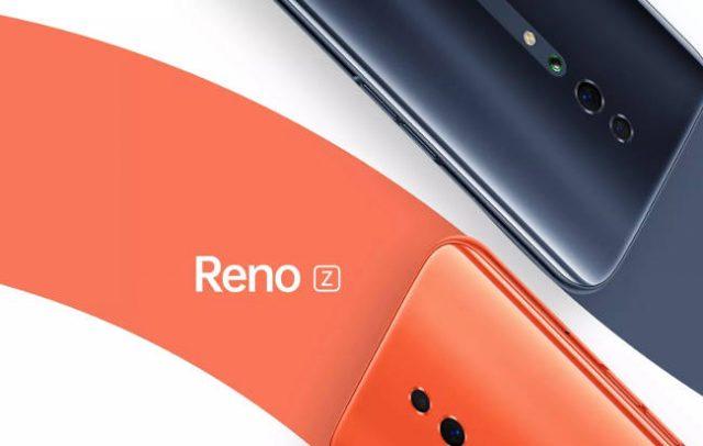 Представлен Oppo Reno Z: характеристики и цена