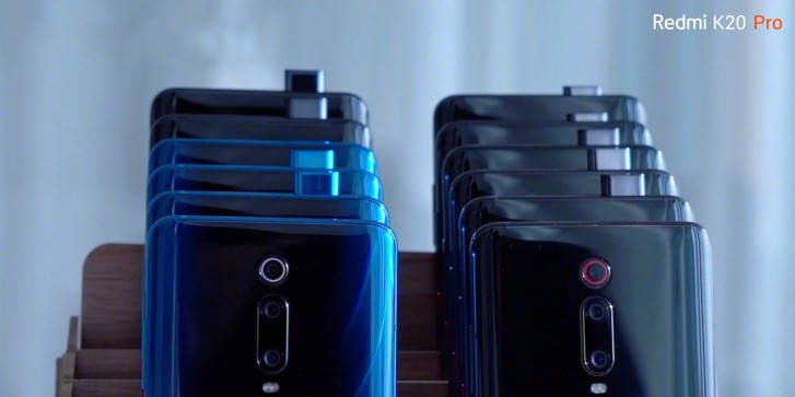 Redmo K20 Pro камера