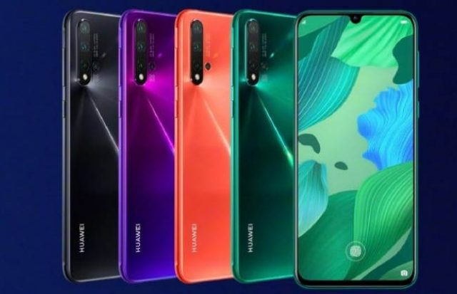 Три модели Huawei nova 5: характеристики и цены