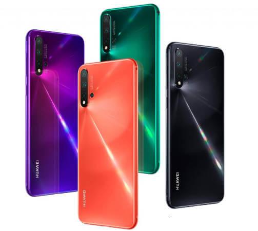 смартфон Huawei nova 5 характеристики