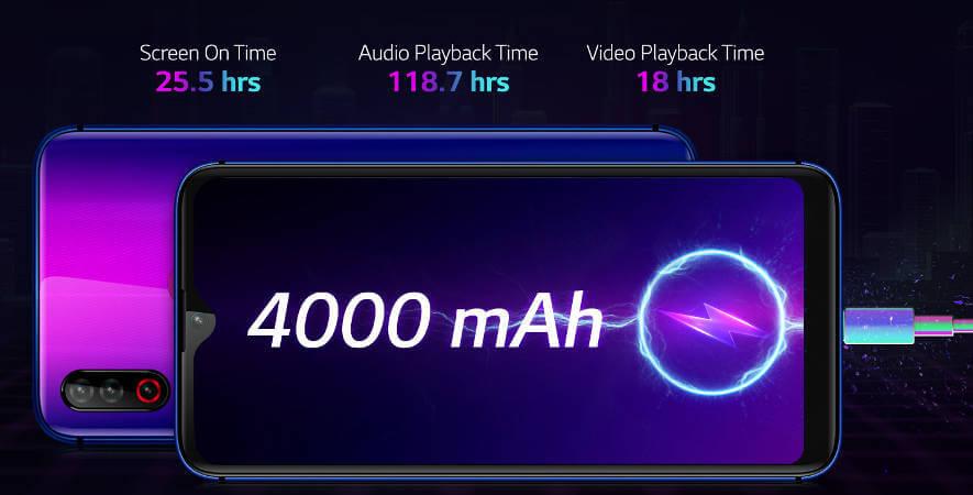LG W30 характеристики цена