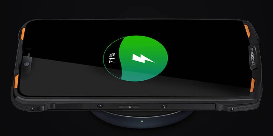Doogee S90 Pro беспроводная зарядка