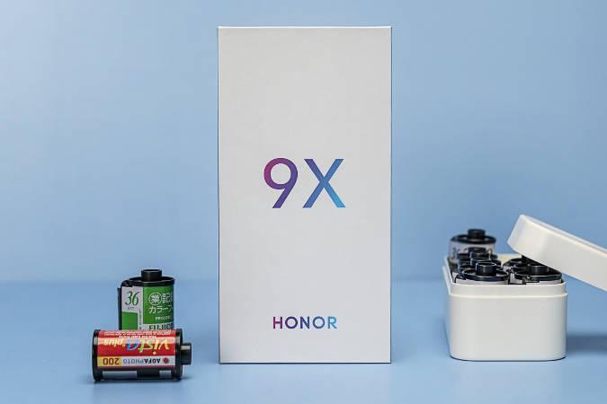смартфон Honor 9X Pro камера