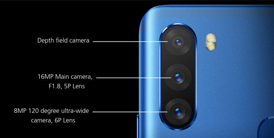 смартфон Infinix Note 6 характеристики камеры